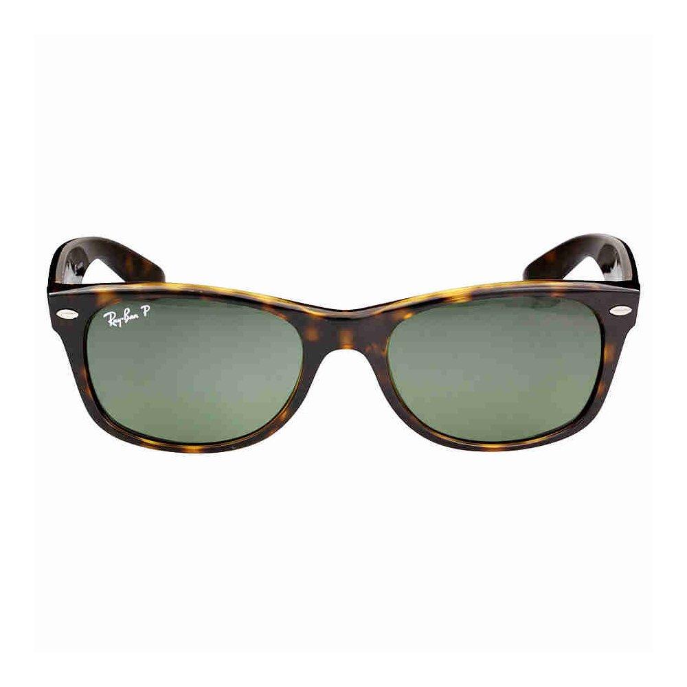 aadc680ee7 Ray Ban Wayfarer RB2132 902 58 Tortoise Crystal Green Polarized 52mm  Sunglasses  Amazon.co.uk  Books
