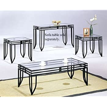 Coffee Table \u0026 2 End Tables Set  sc 1 st  Amazon.com & Amazon.com: Coffee Table \u0026 2 End Tables Set: Kitchen \u0026 Dining