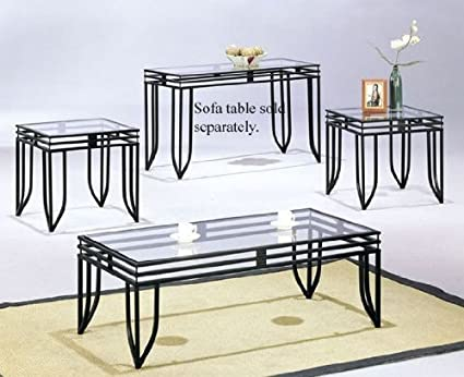 Amazon.com: Coffee Table & 2 End Tables Set: Kitchen & Dining