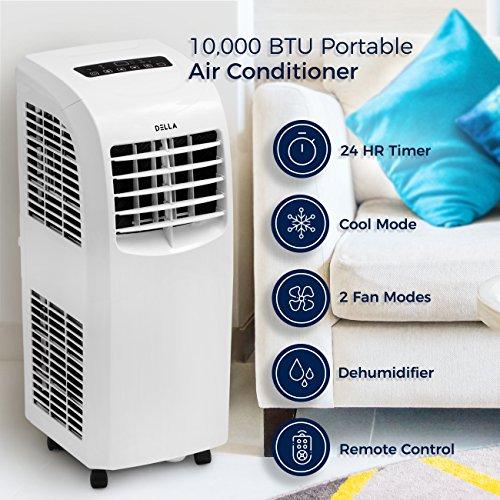 Della 048 Gm 48266 8 000 Btu Portable Air Conditioner