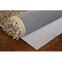 Amzoners Heavier, Thicker and Washable Non-Slip Area Rug Pad. Safe for all floor types(2*8)