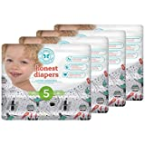 Honest Baby Diapers, Space Travel, Size 5, 100 Count