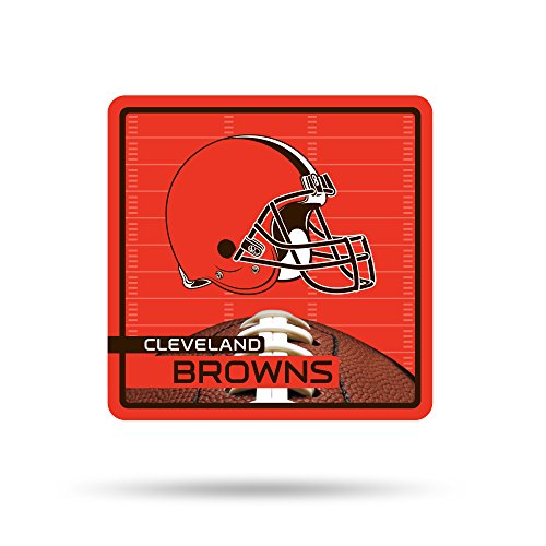 NFL Cleveland Browns  Sport 3D Refrigerator Magnet, Orange, Brown, 4-inch by 3-inch by 0.25-inch