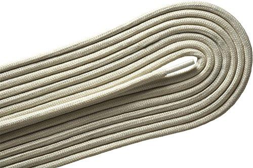E2 Cream (E-2 Fashion Casual / Athletic Round Vanilla Cream 30 inch Shoelaces 2 Pair)