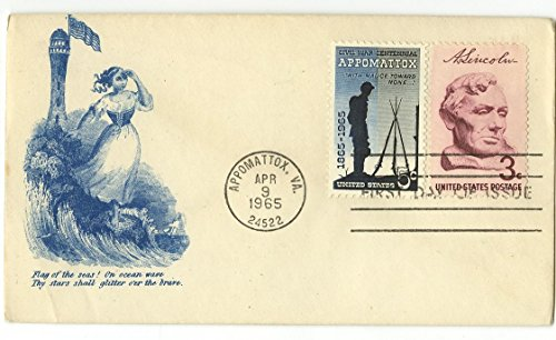 Stamp Postal Cover (Civil War Centennial - 19th Century Postal Cover w/ Stamps - Abraham Lincoln)