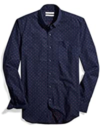 Men's Slim-Fit Long-Sleeve Dobby Shirt
