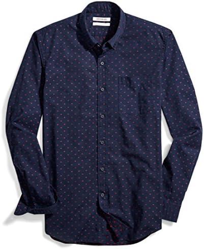 [Patrocinado] goodthreads Hombre Slim-Fit Long-Sleeve Dobby Shirt