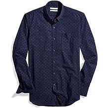 Goodthreads Men's Slim-Fit Long-Sleeve Dobby Shirt