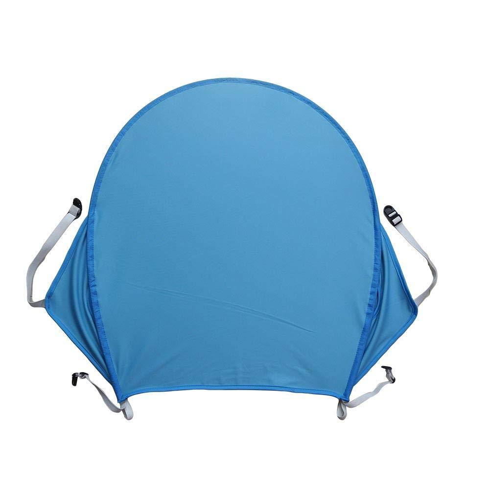 Baby Stroller Sun Shade Awning with Pocket UPF50 Anti-UV Umbrella Canopy Universal Baby Pram Sunshade and Blackout