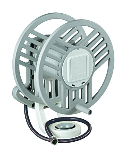 Rainwave RW-9788 Wall Mounted Hose Reel with Hose Guide