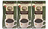 Teeccino French Roast Organic Chicory Roasted Herbal Tea, Caffeine Free, Acid Free, Coffee Substitute, Prebiotic, 25 Tea Bags (Pack of 3)