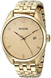 Nixon Women's 'Bullet, All' Quartz Stainless Steel Watch, Color:Gold-Toned (Model: A418-502-00)