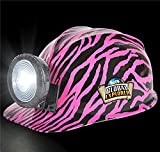 GLOBAL EXPLORER PINK ZEBRA MINER'S HELMET, Case of 24