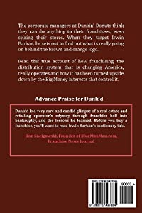 Dunk'd: A True Story of how Big Money is Corrupting the Franchising Industry by BF LLC
