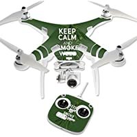 Skin For DJI Phantom 3 Standard – Smoke Weed | MightySkins Protective, Durable, and Unique Vinyl Decal wrap cover | Easy To Apply, Remove, and Change Styles | Made in the USA