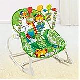 Cadeira De Balanço Bebê Pura Diversão Multicolorido
