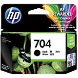 HP Ink Cartridge 704 black/HP 704 Black Original Ink Advantage Cartridge