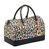 MG Collection KARI Series Trendy Leopard Print Fashion Candy Hand Bag, Bags Central
