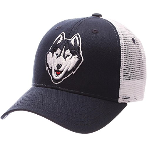 (Zephyr UCONN Connecticut Huskies Big RIG Adjustable HAT)