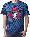 "The Silo TIE DIE NAVY Cleveland Clevinger ""Fear Hair"" T-Shirt"