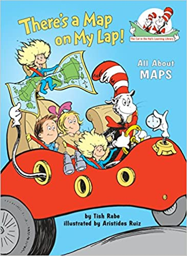 Image result for cat in the hat map book