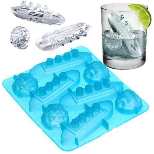 (accessgood Titanic Shape Ice Tray)