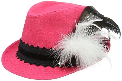 tradizionali lino Femme in 25 Cappello cappelli Whispers Alpine fucsia Rosa colorato OnBxYAw