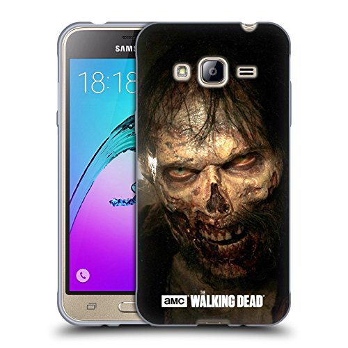 Price comparison product image Official AMC The Walking Dead Stare Walkers Soft Gel Case for Samsung Galaxy J3