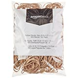 """AmazonBasics Rubber Bands, Size 33 (3-1/2"""" x 1/8''), 600 Bands/1 lb. Pack, 3-Pack"""