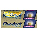 Fixodent Ultra max hold dental adhesive