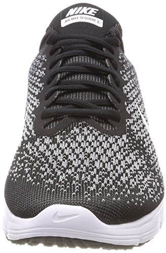 Nike 2 Shoe Sequent Grey Air Black Running Dark White Men's Max YIwdqIt