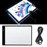 HITSAN DC5V USB 1.5W LED Tracing Light Box Board Artist Tattoo A4 Drawing Pad Table Stepless Adjusted One Piece