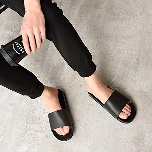 Los Ducha 5uk Weilushop Baño Verano Black 10 color Del Size 10 Las Sandalias Cuarto Tamaño 7 45 5uk Hombres La Black De w6xq8C6t