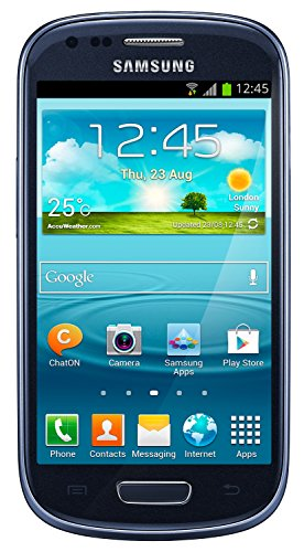 Samsung Galaxy S3 Mini I8200L 8GB Value Edition Unlocked GSM Phone - Blue (Certified Refurbished)