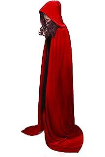 NUWIND Disfraz de el Cuento de la criad Capa Handmaids Tale ...
