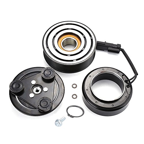 2007 Dodge Ram 3500 6 CYL 6.7L HS18 AC A/C Compressor Clutch Kit (PULLEY, BEARING, COIL, PLATE)