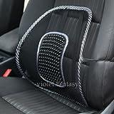 UNAKIM- Car Seat Waist Rest Cushion Mesh Lumbar Pillow Soft Back Support