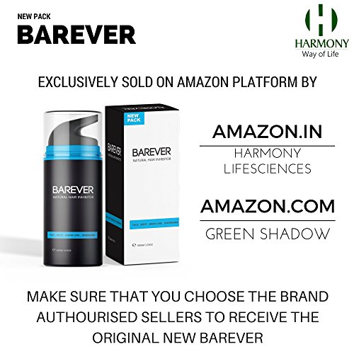 Barever Permanent Hair Removal Crea…