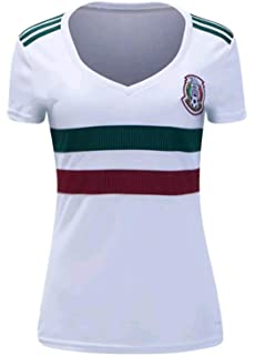 a12276fa79166 Amazon.com: adidas Women's Soccer Mexico Home Jersey: Clothing