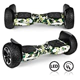 CBD Off Road Hover Board, All Terrain Hoverboard for Kids, 8.5 Inch Two-Wheel Self Balancing Hoverboard for Adults-TeCamo
