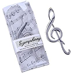 Symphony Music Note Wine Bottle Opener Wedding Favor Souvenir Gift