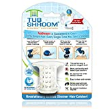 Image of TubShroom The Revolutionary Tub Drain Protector Hair Catcher/Strainer/Snare, White