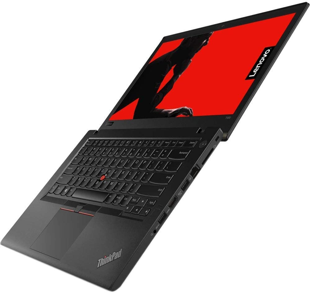"2019 Lenovo ThinkPad T480 14"" HD Business Laptop (Intel 8th Gen Quad-Core i5-8250U, 8GB DDR4 RAM, Toshiba 256GB PCIe NVMe 2242 M.2 SSD) Fingerprint, Thunderbolt 3 Type-C, WIFI, Windows 10 Pro – Black"