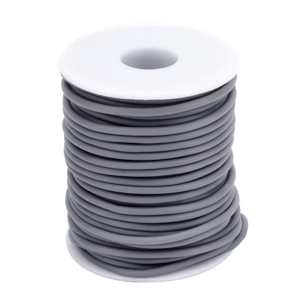 2/mm 1/mm Lime Foro NBEADS 1/x 50/m//Rotolo PVC Gomma Corda Gomma Corda per Mano Craft Making