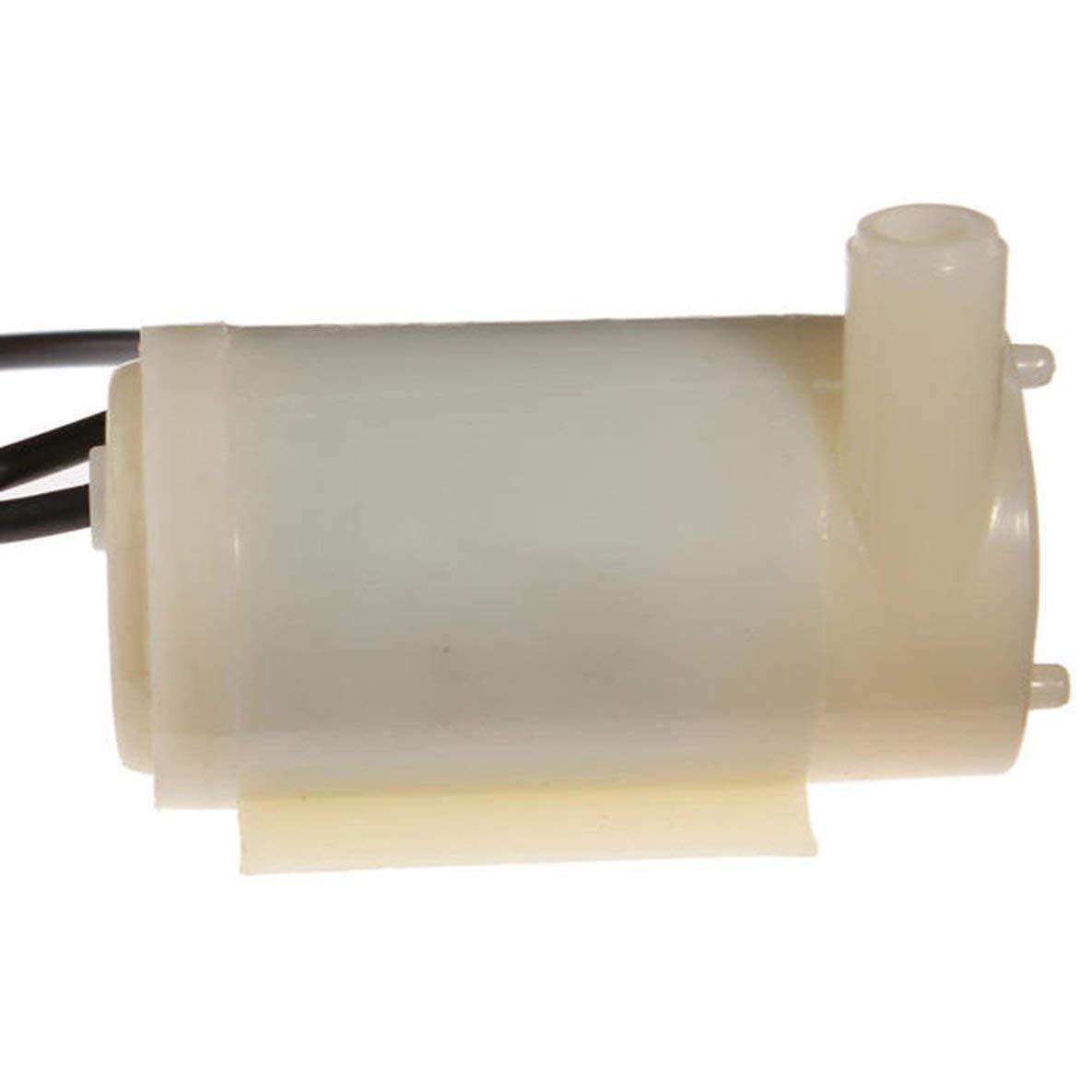und Wasser DC Motor Pumpe Wasserpumpe 3V 120L H Low Noise Noradtjcca Micro Tauch