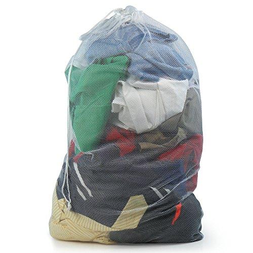 Washing Net (Hangerworld Professional Mesh Net Laundry Washing Bag - High Temperature Safe in Washing Machine or Tumble Dryer)
