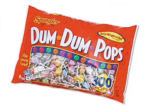 Dum Dum Original Pops 300 Count Bag - 1 Unit