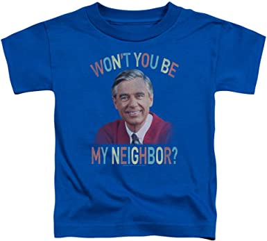 Mister Rogers A Snappy New Day Unisex Toddler T Shirt for Boys and Girls