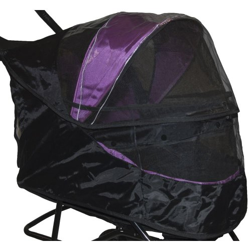 Pet Gear Special Edition Weather Cover for No Zip Pet Stroller - Black