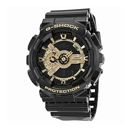 Men's Casio G-Shock Classic Black and Gold X-Large Ana-Digi - X G Casio Large Watch Shock